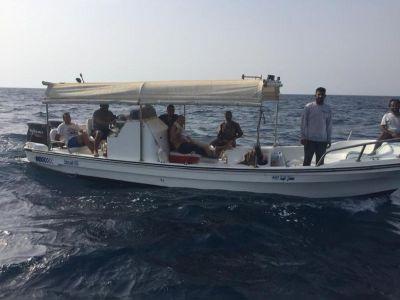 حرس الحدود بمنطقة مكة المكرمة ينقذ ثمانية أشخاص تعطل قاربهم في عرض البحر