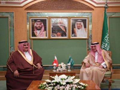 """""""الجبير"""" يستقبل وزراء خارجية عدد من الدول المشاركة في القمة الإسلامية"""
