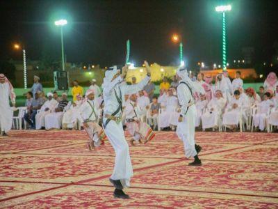 قاعدة الملك خالد الجوية تقيم حفل معايدة للمرابطين وقوات التحالف