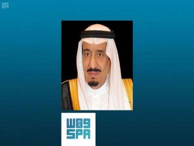 خادم الحرمين الشريفين يتلقى برقيات استنكار وإدانة من القيادة في دولة الكويت إثر استهداف مطار أبها الدولي