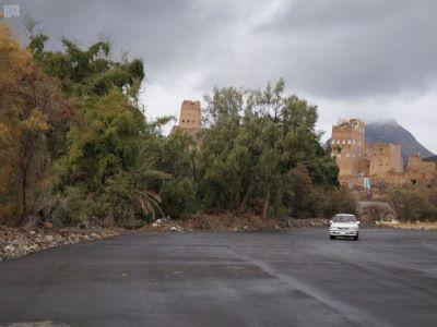 """مبادرة """"حسن الوفادة"""" تعيد القرى الأثرية لواجهة السياحة في عسير"""