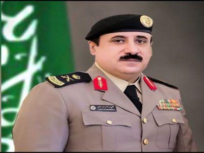 ترقية اللواء علي بن حسن ال مرضي