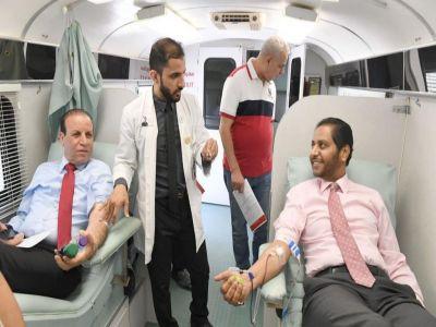السفير بامخرمة يدشن يوم التبرع بالدم بحضور السفراء والدبلوماسيين بالرياض