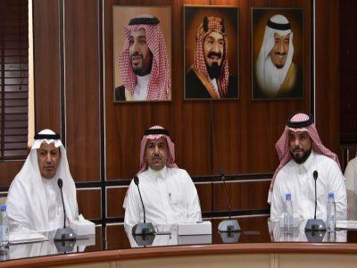 اجتماع بين غرفة أبها والهيئة السعودية للمهندسين