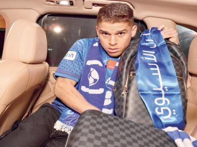 كويلار: مدرب برازيلي شجعني على الانتقال للهلال