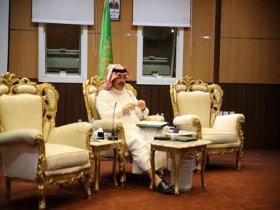 الأمير تركي بن طلال يعقد اللقاء الثاني مع شباب وفتيات محافظة بلقرن