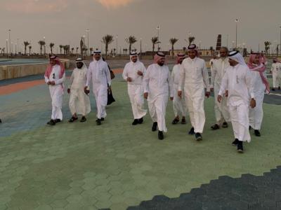 أمانة عسير تستضيف أربعين إعلاميا  للاطلاع على مشروع واجهة عسير البحرية