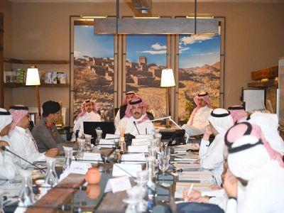 مجلس هيئة تطوير منطقة عسير يعقد اجتماعه الأول للعام الحالي