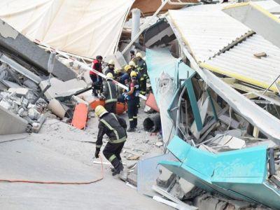 وفاة مواطن ومقيم في حادث انهيار سقف بـ #جامعة_المعرفة