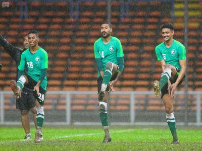 بإشراف سعد الشهري: #المنتخب_الوطني يواصل تدريباته بـ #ماليزيا