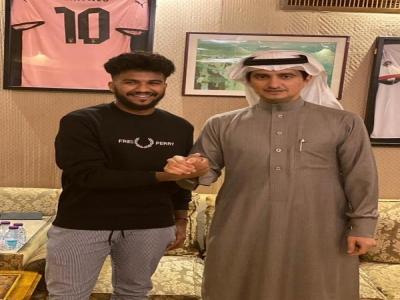 النصر يضم خالد الغنام لمدة 5 سنوات