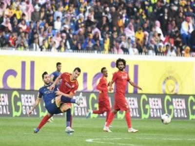 النصر يتعادل مع ضمك في افتتاح مباريات الدور الثاني من دوري كأس الأمير محمد بن سلمان