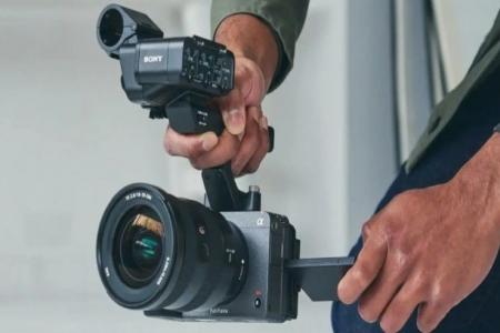 كاميرا FX3 كاملة الإطار من #سوني