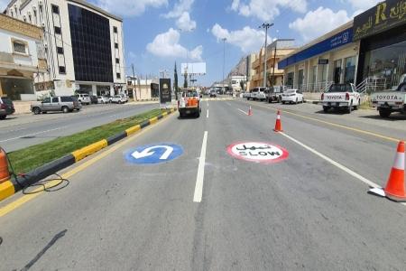 بلدية #تنومة تنفذ عدة مشاريع وتواصل معالجة التشوه البصري