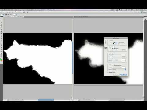 أدوبي فوتوشوب CS5 --  الكشف عن الحافة واخفاء النتائج في وقت أقل - انجليزي