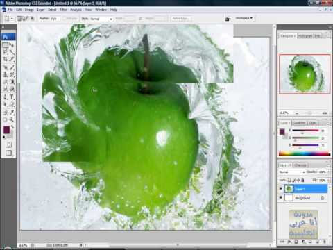 الدرس الثانى فى الفوتوشوب تعديل الألوان Photoshop 3-3