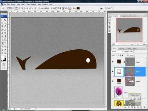الدرس السابع عشر فوتوشوب أداة القلم Pen Tool2-3