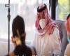 الأمير تركي بن طلال يتفقد الحجر الصحي في احد الفنادق