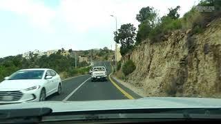 #شاهد:  ازدحام السياح في بني مازن والسبب الخضرة