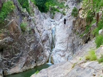 شلال وادي الروغ أعجوبة الطبيعة في #العارضة بـ #جازان