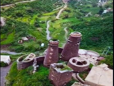 #فيديو: #الداير .. جبال شاهقة تغطيها الخضرة ومباني تراثية تعكس تاريخ المكان وحضارة الانسان... تصوير/ بدر العلي