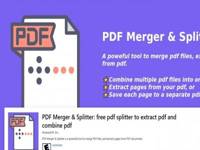 """طريقة دمج او اعادة تقسيم ملف بي دي اف """"PDF"""" او تحويل الصفحات الة صور"""