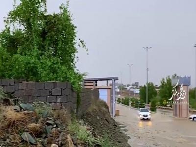 أمطار محايل 1443ه / تصوير محمد مكثر