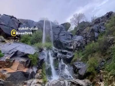 لقطات من أمطار خاط في المجاردة / تصوير شبيلي الشهري
